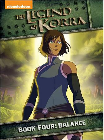 The Legend of Korra Book Four Balance