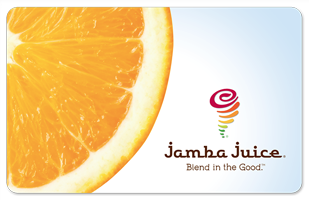 jamba juice gift card