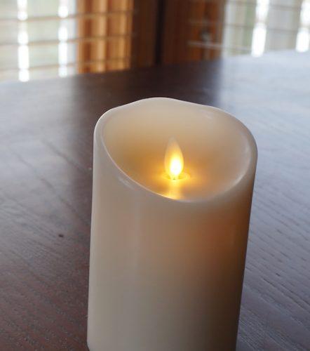 luminara led candle 6