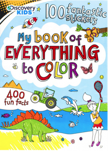 my book of everything to color
