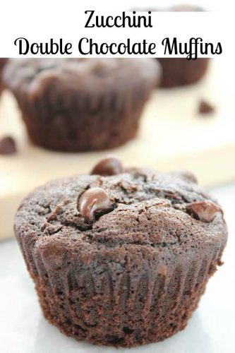 Zucchini Double Chocolate Muffins 10