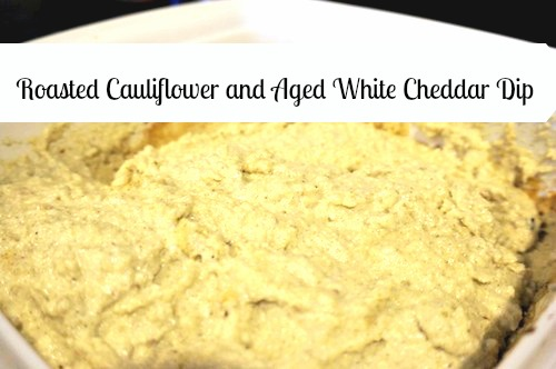 Roasted Cauliflower and Aged White Cheddar Dip pic