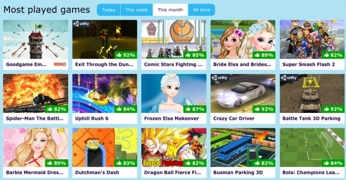 free games on poki