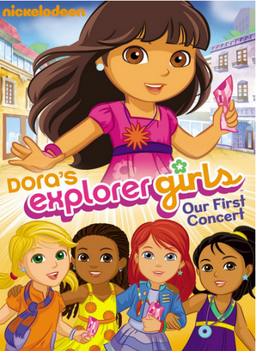 DVD Dora The Explorer Doras Explorer Girls