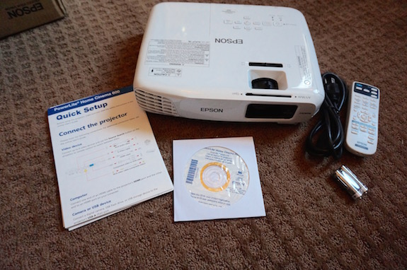 Epson PowerLite Home Cinema Projector 11