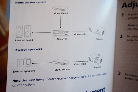Epson PowerLite Home Cinema Projector 19