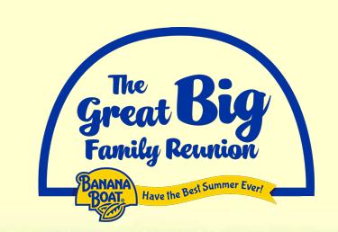 banana boat family reuinion sweepstakes