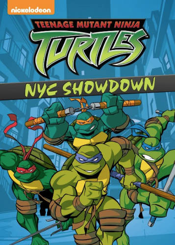dvd Teenage Mutant Ninja Turtles NYC Showdown