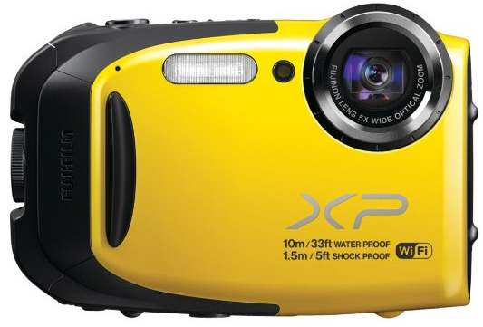 fujifilm xp70 waterproof camera