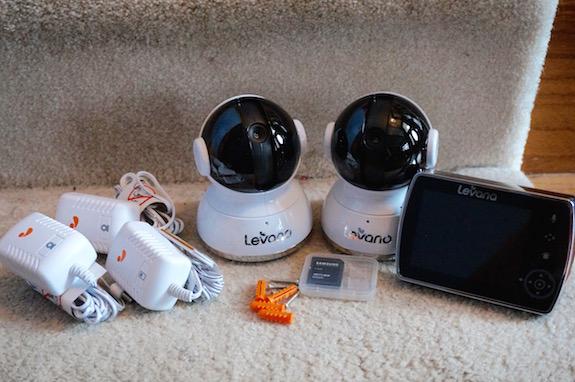 levana Keera 2 Camera Video Monitor 1