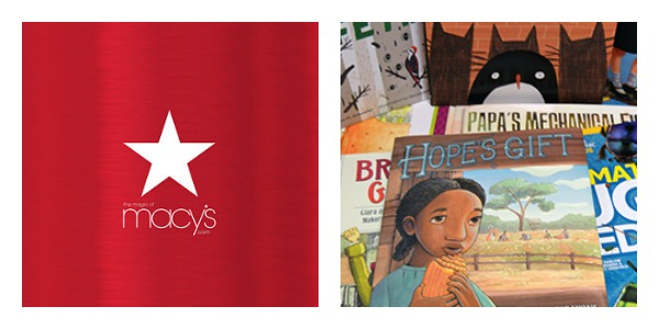 macys books and gift card