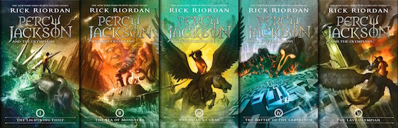 percy jacksonSeriesCovers