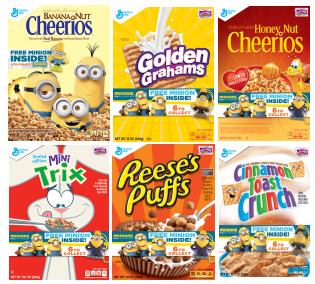 general mills cereals 1