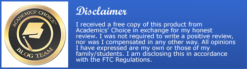 academics choice disclaimer