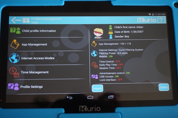 Going places faster on the kurio xtreme tablet thanks to an intel