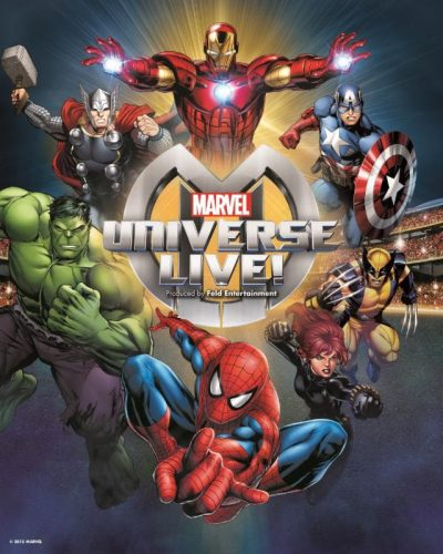Marvel Universe LIVE! is Coming to Chicago