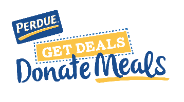 Save on PERDUE® Chicken Products & Meals Will Be Donated