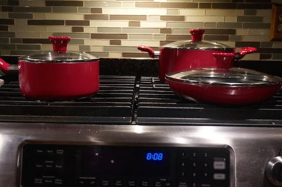 gas cooktop with electric double ovens stainless steel