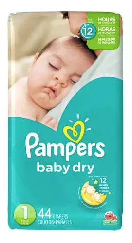 Free Pampers Baby Dry Diapers Jumbo Pack!
