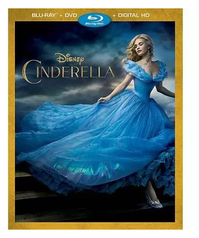 "Get the New ""Cinderella"" Blu-ray DVD for FREE Plus Make $2.03!"