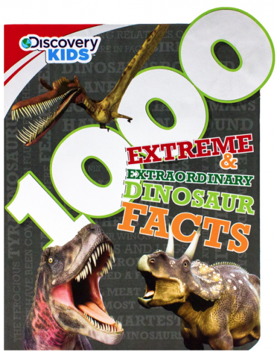 parragon 1000 Extreme Extraordinary Dinosaur Facts