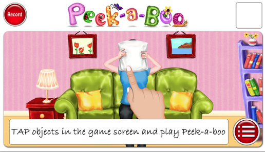 "iTunes App Review: ""Peek-A-Boo"""