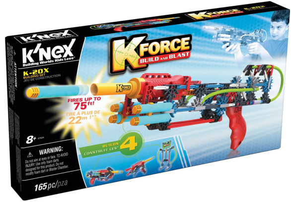 Build & Shoot With the K'NEX K-Force K-20X Building Set #KNEX
