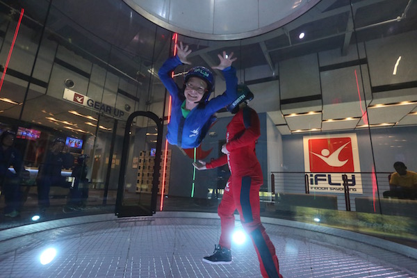 Indoor Skydiving is Amazing! #indoorskydiving #iFLYChicago #iflychicagonaperville