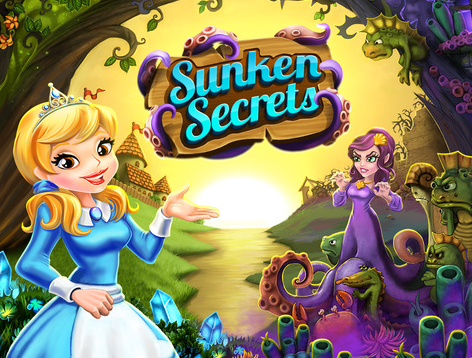 Farming + Magic + Sea Witch = Sunken Secrets iOS App @SunkenSecrets1