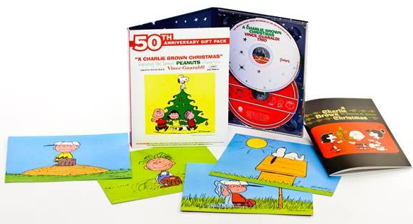 charlie brown 50th cd