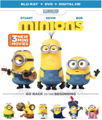 """Get """"Minions"""" on Blu-ray for Free Plus a $5 Target Gift Card!"""