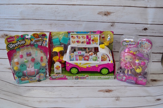 Lots of New Shopkins Products Including a Doll & Ice Cream Truck!