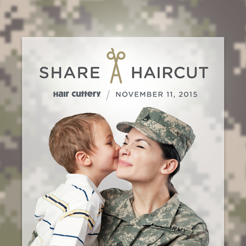 Get a Haircut on November 11th, Give a Haircut to a Veteran