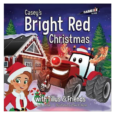 """Book """"Casey's Bright Red Christmas"""""""