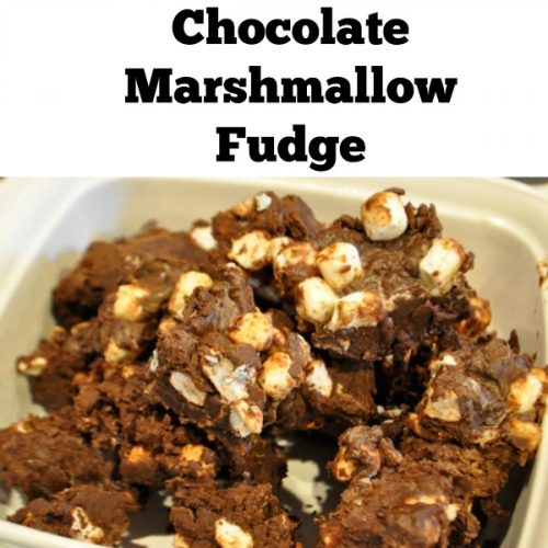 Recipe: Chocolate Marshmallow Fudge