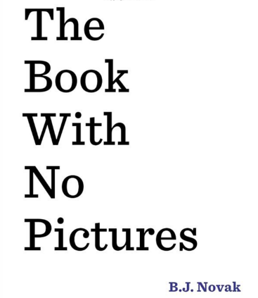 """""""The Book With No Pictures"""" Book (& #Sweepstakes Today)"""