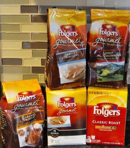 folgers gourmet coffee 1