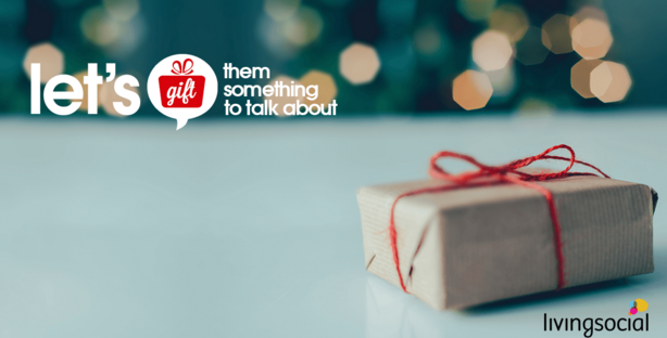 Give a Gift That is Something to Talk About From LivingSocial #Gift2TalkAbout