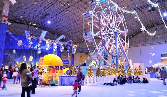 winter wonderfest ferris wheel