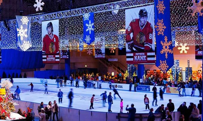 winter wonderfest ice rink