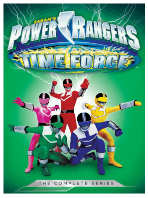 Power Rangers Time Force The Complete Series