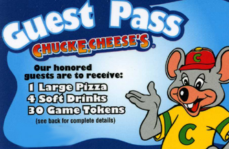 Chuck E. Cheese's Little Big Night Out Is Coming March 31st Plus Donate Through April