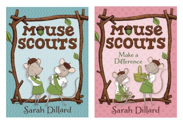 mouse scouts books