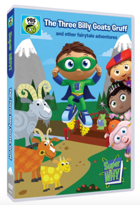 Super Why The Three Billy Goats Gruff