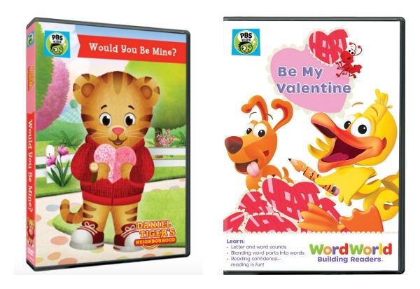 pbs kids valentines dvds