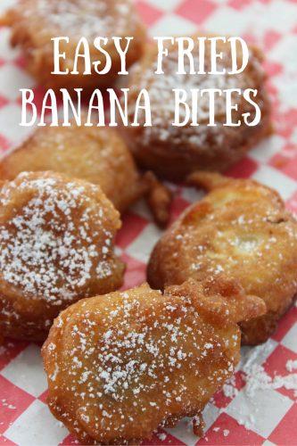 Easy Fried Banana Bites