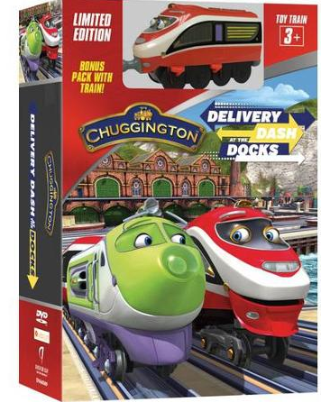 "DVD ""Chuggington ""Delivery Dash at the Docks"""