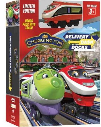 "DVD ""Chuggington ""Delivery Dash at the Docks"""