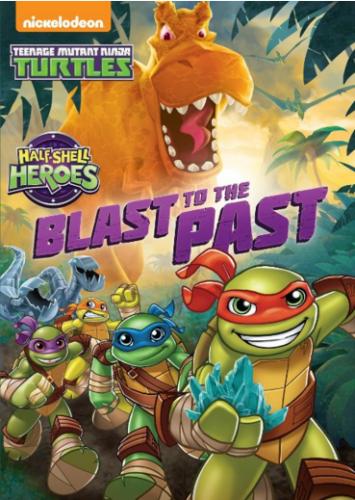 "DVD Review ""Teenage Mutant Ninja Turtles: Half-Shell Heroes: Blast to the Past"""