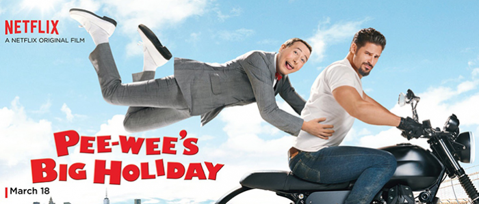 Going on an New Adventure with Pee-wee Herman in Pee-wee's Big Holiday @Netflix #StreamTeam